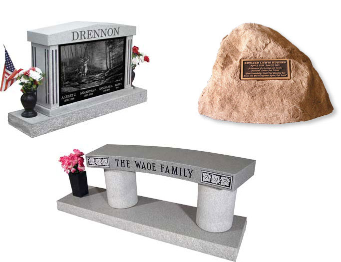 Assorted Cremation Monuments