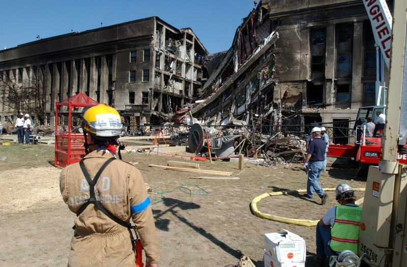 Body parts from 911 attack on the pentagon were treated like medical