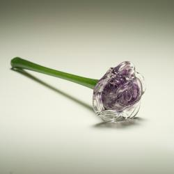 Glass art from ashes